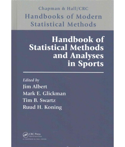 Handbook of Statistical Methods and Analyses in Sports (Hardcover) - image 1 of 1