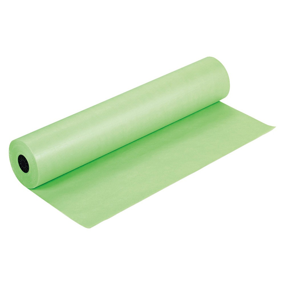 Pacon Rainbow Duo-Finish Colored Kraft Paper, 35 lbs., 36x1000' - Green