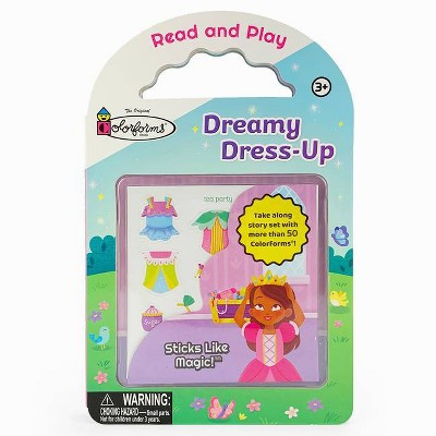 Dreamy Dress-Up - (Colorforms Activity Books) by  Rufus Downy (Board Book)