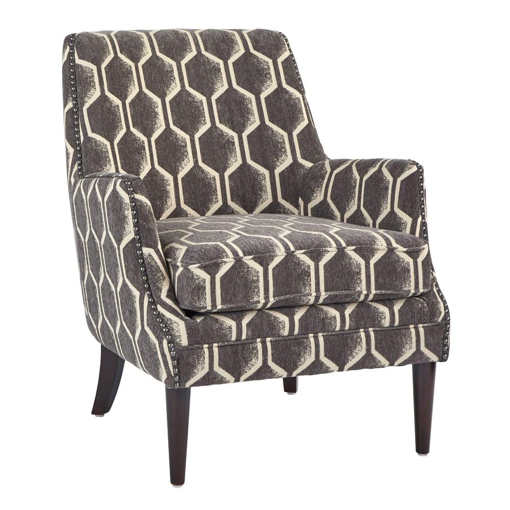 Reymon Accent Chair Charcoal Lifestorey