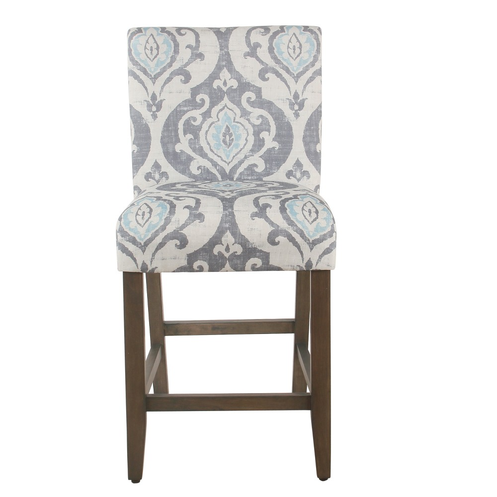 "Image of ""24"""" Classic Parsons Counter Stool Suri Blue - Homepop"""