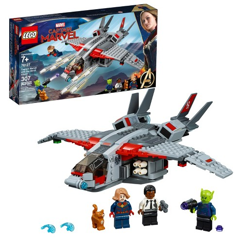 LEGO Super Heroes Captain Marvel and The Skrull Attack 76127 - image 1 of 4
