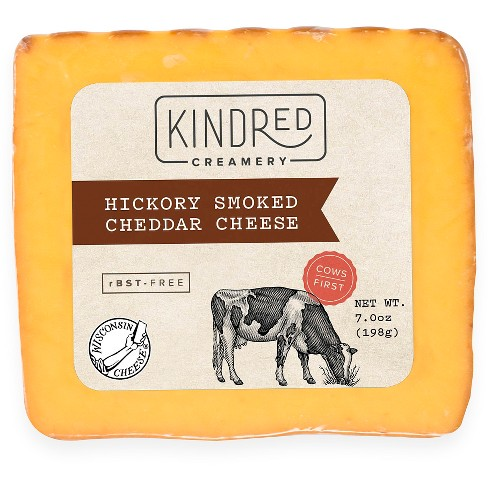 Kindred Creamery Hickory Smoked Cheddar Cheese - 7oz - image 1 of 1