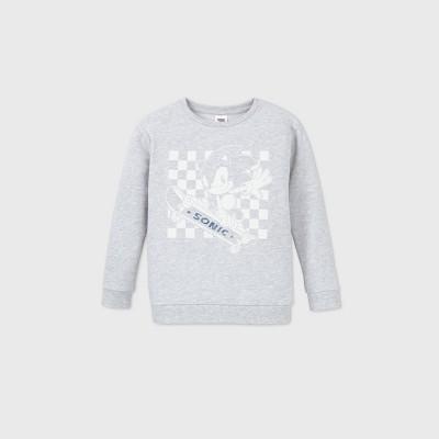 Boys' Sonic Fleece Sweatshirt - Gray