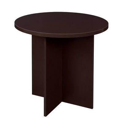 """30"""" Lenox Round Table Brown - Niche"""