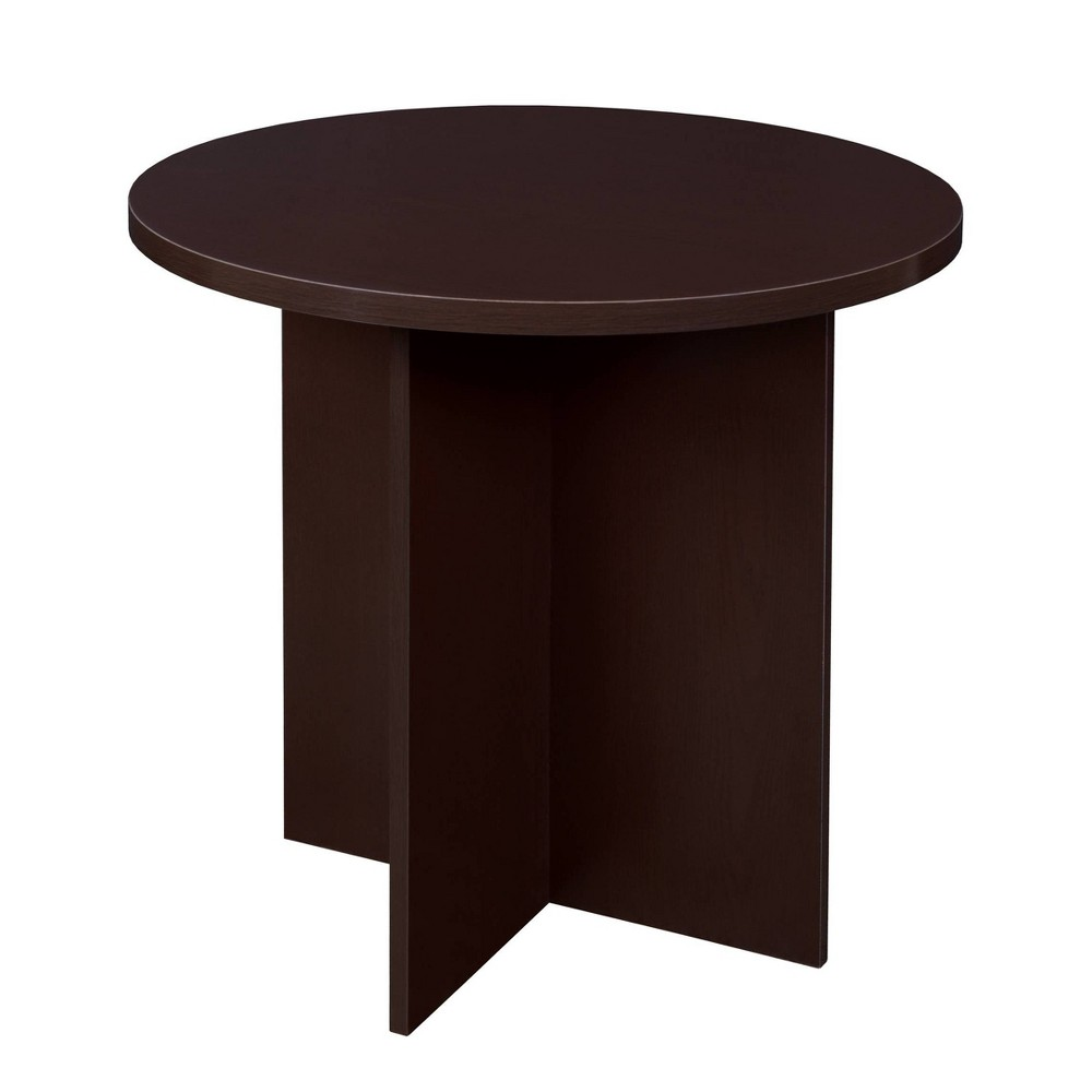 "Image of ""30"""" Lenox Round Table Brown - Niche"""