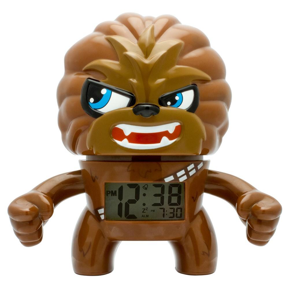 Star Wars Chewbacca Clock - BulbBotz, Brown