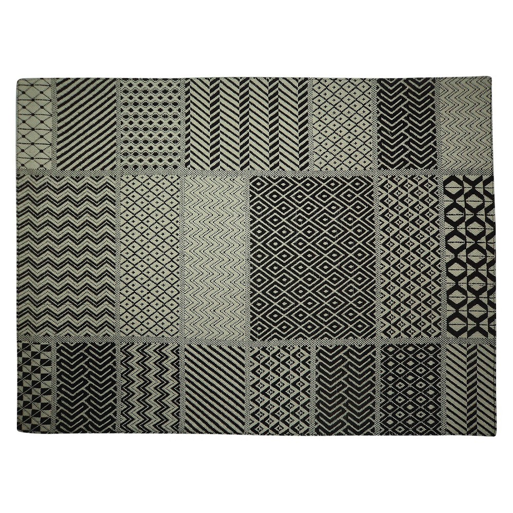 Patchwork Placemat Black - Threshold