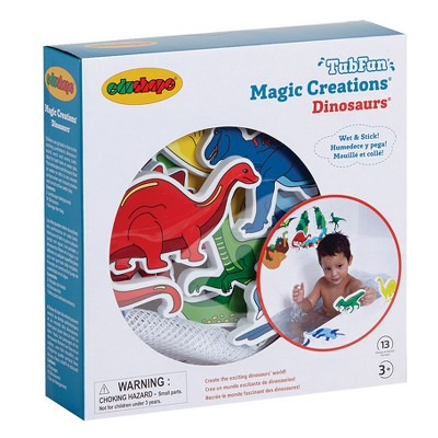 Edushape Magic Creations Bath Playset - Dinosaurs