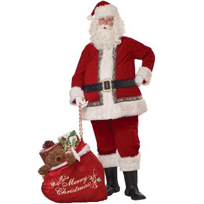 California Costumes Deluxe Santa Claus Set Adult Costume