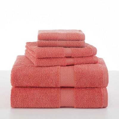 6pc Ringspun Bath Towel - Martex