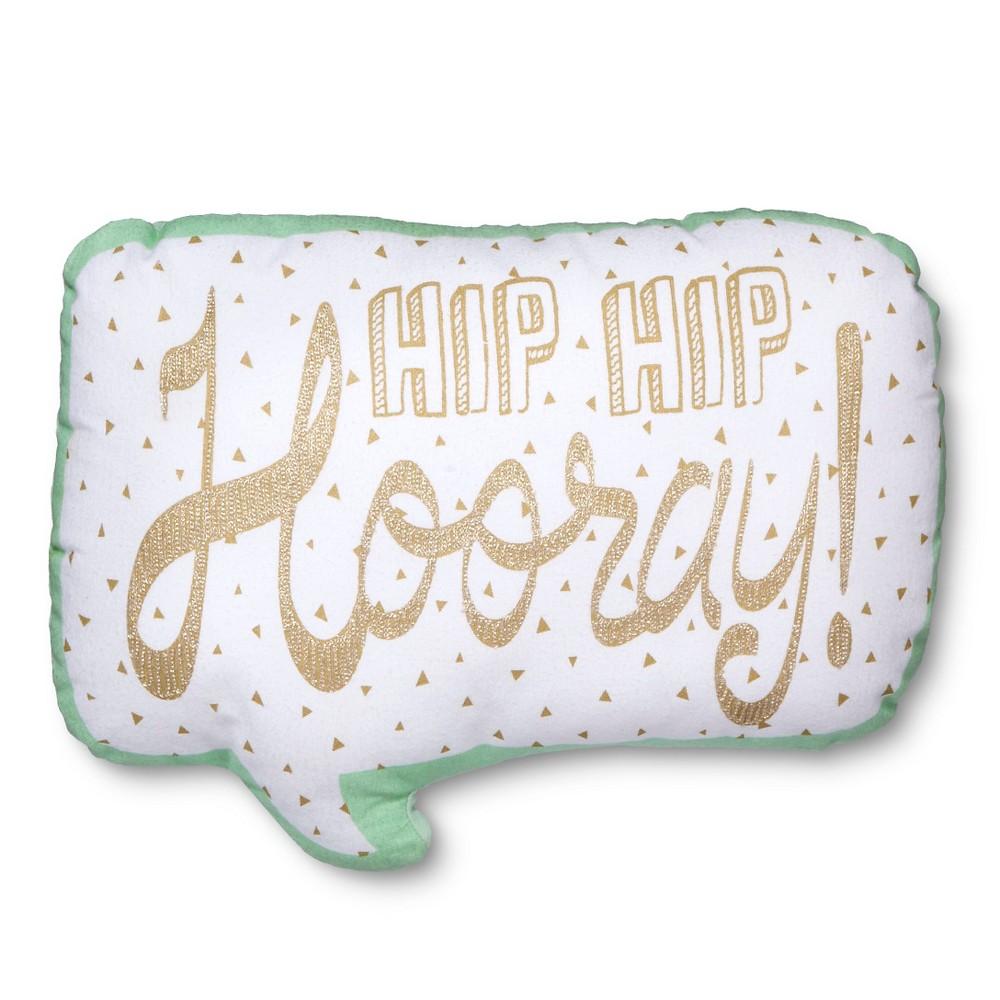 Hooray Throw Pillow - 16