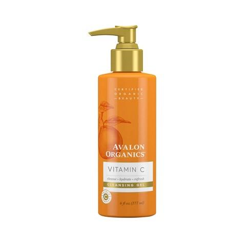 Avalon Organics Vitamin C Cleansing Gel - 6 fl oz - image 1 of 3