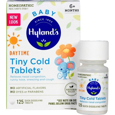 Hyland's Baby Tiny Dissolve Tablets - 125ct