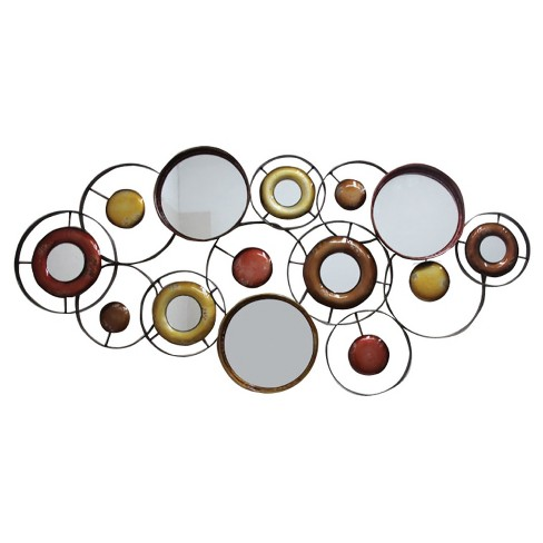 Wall Decor-Array of Circles - Home Source - image 1 of 2