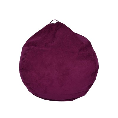 Large Micro Suede Bean Bag Chair - ACEssentials