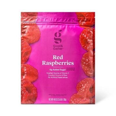 Frozen Red Raspberries - 40oz - Good & Gather™
