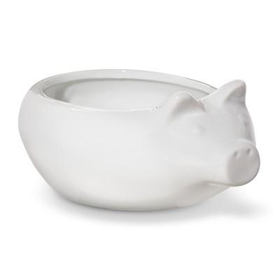 BIA Cordon Bleu Porcelain Individual Pig Dip Bowls Set of 4 (14oz)