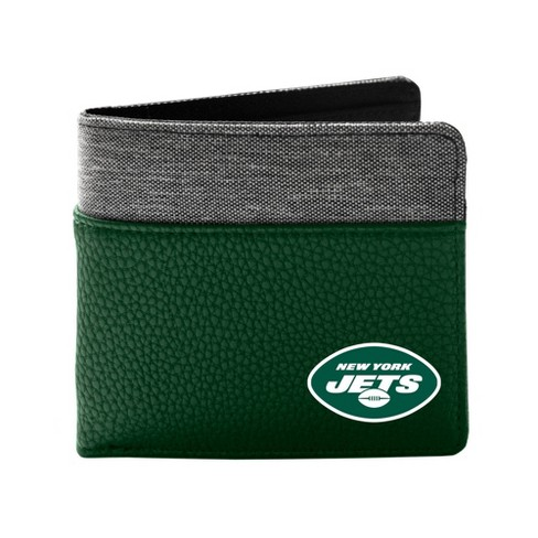 NFL New York Jets Pebble BiFold Wallet - Brown - image 1 of 1
