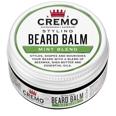 Cremo Styling Beard Balm Mint Blend - 2oz