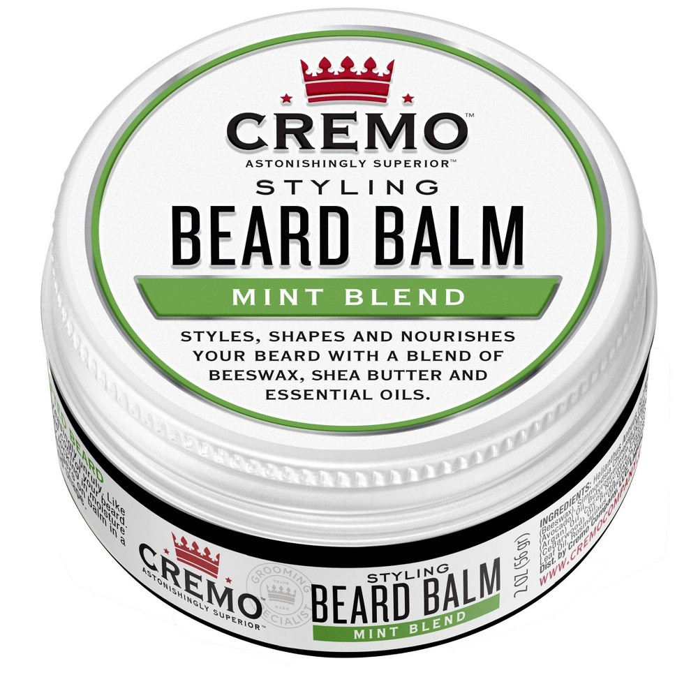 Image of Cremo Styling Beard Balm Mint Blend - 2oz