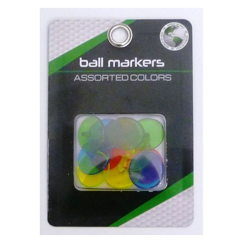 JEF World of Golf Ball Markers  - 12pk - image 1 of 1