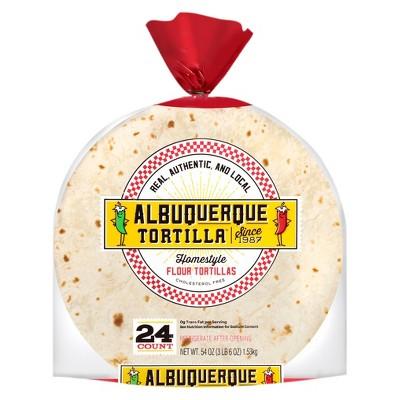 Albuquerque Homestyle Flour Tortillas - 24ct/52.8oz
