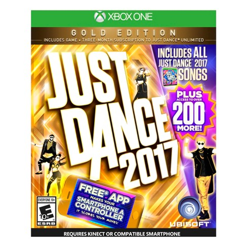 Just Dance 2017 GOLD Edition Xbox One - image 1 of 6