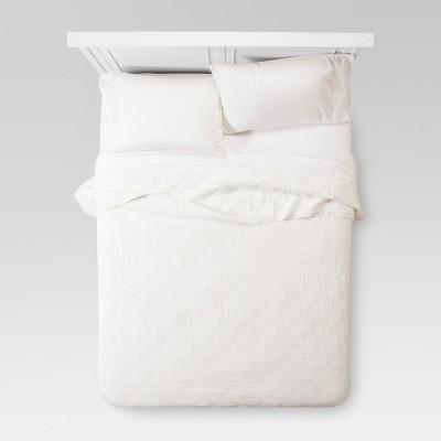 White Linen Quilt (Full/Queen)- Threshold™