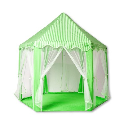Ningbo Zhongrui Import And Export Co Green Hexagon Fantasy Castle Play Tent | 53 x 47 x 55 Inches