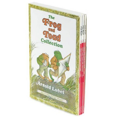 The Frog and Toad Collection Box Set - (I Can Read Level 2) by  Arnold Lobel (Paperback)