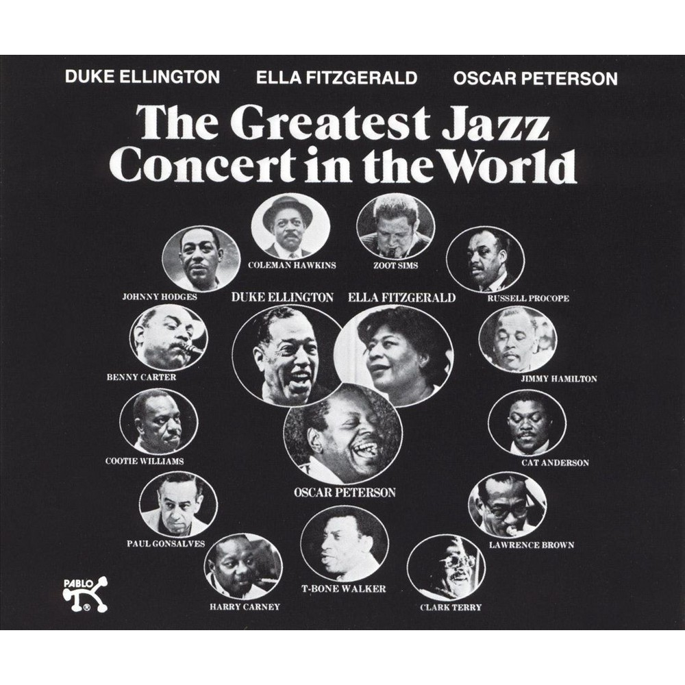 Jazz at the philharm - Greatest jazz concert in the world (CD)