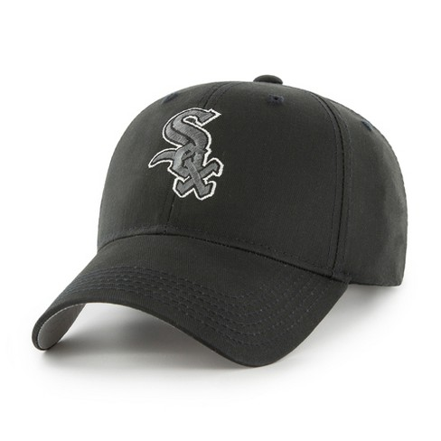 4aa6baca MLB Chicago White Sox Classic Black Adjustable Cap/Hat by Fan Favorite