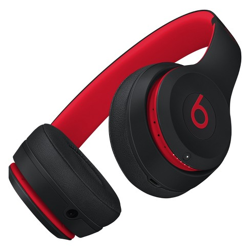 Beats Solo3 Decade Collection Wireless On-Ear Headphones - Defiant Black-Red  (MRQC2LL A)   Target a92cd0518