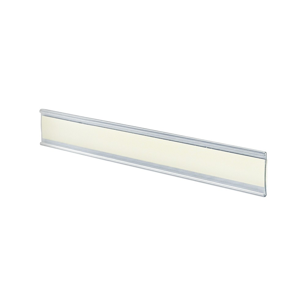 Azar 8.5 x 1.5 Adhesive-back Acrylic Nameplate 10ct, Clear