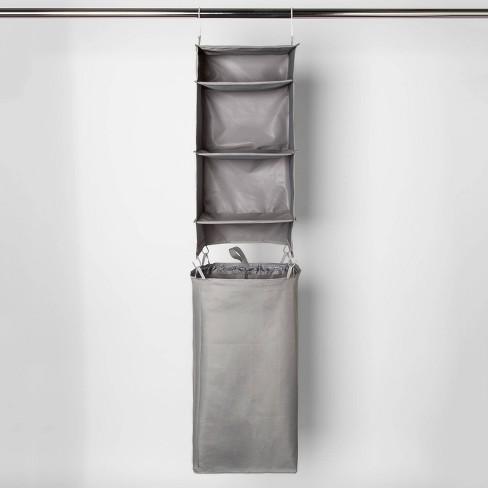 Hanging Closet Organizer With Detachable Hamper - Room Essentials™ - image 1 of 4