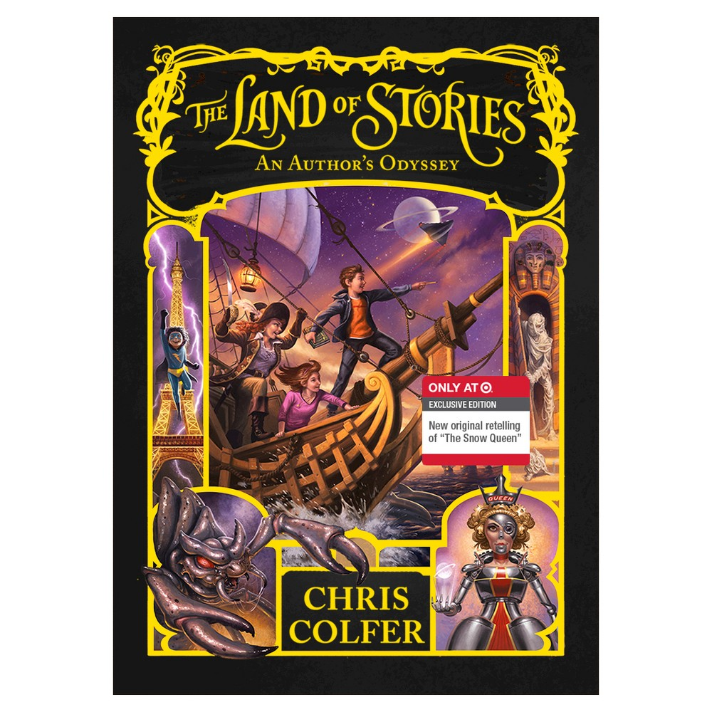 An Author's Odyssey (The Land of Stories Series #5) (Exclusive Content) by Chris Colfer