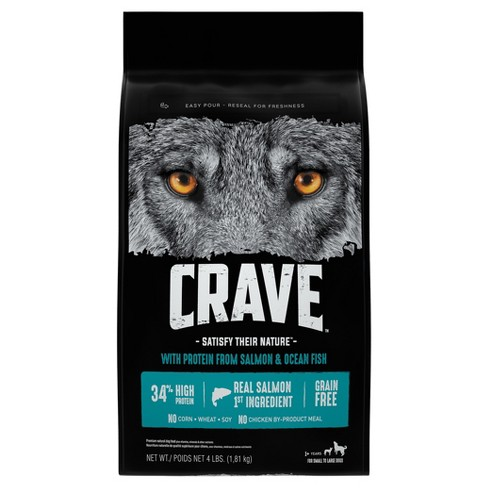Crave Grain Free Adult Dry Dog Food With Protein From Salmon and Ocean Fish - image 1 of 4