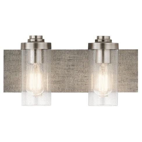 "Kichler 45927 Dalwood 2 Light 16-1/4"" Wide Bathroom Vanity Light - image 1 of 1"