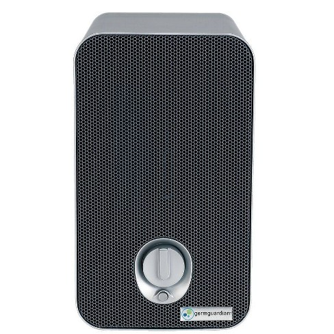 GermGuardian 3 in 1 Air Purifier Table Top Tower With 2 Bonus Carbon Filters Gray - image 1 of 4