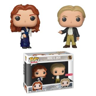Funko POP! Movies: Titanic 2pk - Rose & Jack (Target Exclusive)