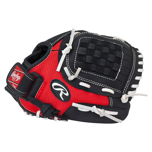 "Rawlings Mark of Pro Light Series Glove Left Hand Throw - Black/Red (10.5"") - image 1 of 2"