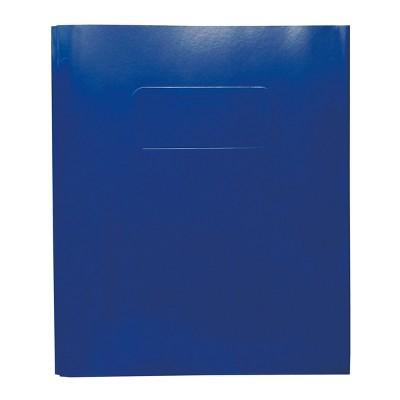 2 Pocket Paper Folder with Prongs  Blue - Pallex