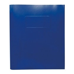 2 Pocket Paper Folder with Prongs  Blue - Pallex