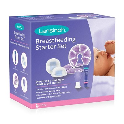 Lansinoh Breastfeeding Starter Set