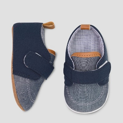 Baby Boys' Slip on Boat Shoe - Cat & Jack™ Blue 3-6M