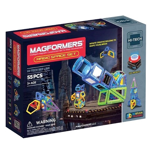 Magformers Magic Space 55 PC Set - image 1 of 8