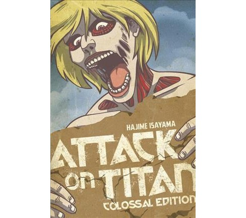 Attack on Titan 4 : Colossal Edition (Combined) (Paperback) (Hajime Isayama) - image 1 of 1
