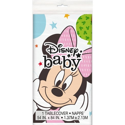Minnie Mouse 1st Birthday Tablecover - image 1 of 2