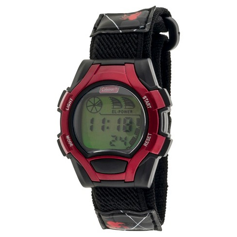 Kid's Coleman® Digital Sportwrap Watch - Red Spider Print - image 1 of 1